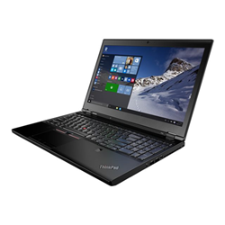 "Workstation Lenovo - Thinkpad p50 - 15.6"" - xeon e3-1535mv5 - 32 gb ram - 256 gb ssd 20eqs75f06"
