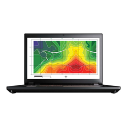 "Workstation Lenovo - Thinkpad p71 - 17.3"" - xeon e3-1505mv6 - 16 gb ram - 256 gb ssd 20hk003bix"