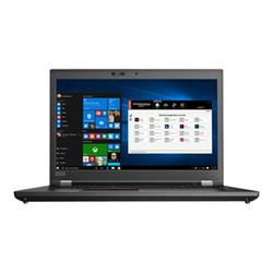 "Workstation Lenovo - Thinkpad p72 - 17.3"" - core i7 8750h - 16 gb ram - 512 gb ssd 20mb000fix"