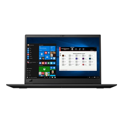 "Workstation Lenovo - Thinkpad p1 - 15.6"" - core i7 8750h - 16 gb ram - 256 gb ssd 20md0001ix"
