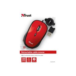 Mouse Trust - Raton retractil
