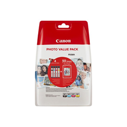 Cartuccia Canon - Cli-581 c/m/y/bk photo value pack - confezione da 4 2106c005