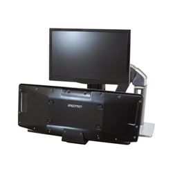 Lenovo - Ergotron workfit-a lcd hd with worksurface+ standing desk 24-317-026