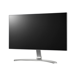 "Écran LED LG 24MP88HV-S - Écran LED - 23.8"" - 1920 x 1080 Full HD (1080p) - AH-IPS - 250 cd/m² - 1000:1 - 5 ms - 2xHDMI, VGA - haut-parleurs - argenté(e), blanc (noir)"
