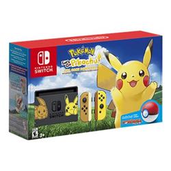 Image of Console Switch + Pokemon let's go Eevee + Pokeball