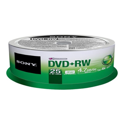 Sony - Dvd rw 4x spindle