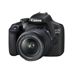 Fotocamera reflex Canon - EOS 2000D BK 18-55 IS II EU26