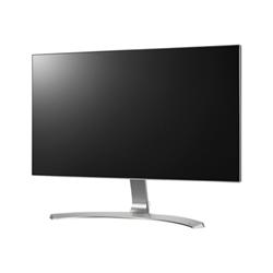 """Écran LED LG 27MP89HM-S - Écran LED - 27"""" (27"""" visualisable) - 1920 x 1080 Full HD (1080p) - AH-IPS - 250 cd/m² - 1000:1 - 5 ms - 2xHDMI, VGA - haut-parleurs - argenté(e), blanc (noir), cadre frontal noir"""