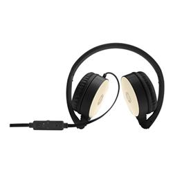 Cuffie con microfono HP - H2800 Nero-Oro
