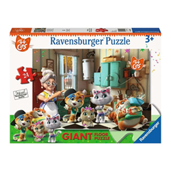 Puzzle Ravensburger - 44 Gatti 3004