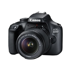 Fotocamera reflex Canon - Eos 4000d - fotocamera digitale lente ef-s 18-55mm dc iii 3011c003