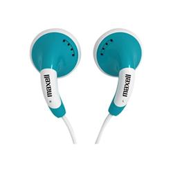 Maxell Colour Budz - Écouteurs - embout auriculaire - jack 3,5mm - bleu
