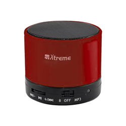 Speaker wireless Fellowes - Xtreme 03170 Red Con Microfono
