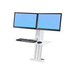 Lenovo - Ergotron workfit-sr dual sit-stand workstation - supporto 33-419-062