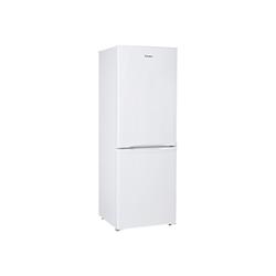 Réfrigérateur Candy CCBS 5152W - Réfrigérateur/congélateur - pose libre - largeur : 55 cm - profondeur : 56 cm - hauteur : 155 cm - 190 litres - congélateur bas - classe A+ - blanc