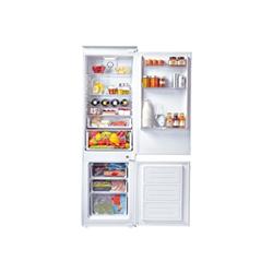 Réfrigérateur encastrable Candy CKBC3180EE/1 - Réfrigérateur/congélateur - intégrable - niche - largeur : 56 cm - profondeur : 55 cm - hauteur : 177.1 cm - 250 litres - congélateur bas - Classe A++ - blanc