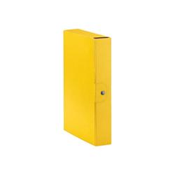 Raccoglitore Esselte - Cf5scatole eurobox dorso6 giallo
