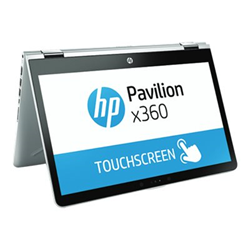 "Notebook convertibile HP - Pavilion x360 14-ba024nl - 14"" - pentium gold 4415u - 8 gb ram 3cd60ea#abz"