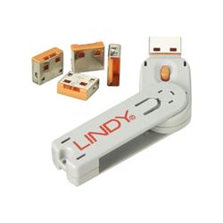 Cavo Lindy - Usb port blocker blocco per porta usb 40453
