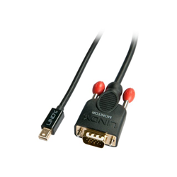 Cavo VGA Lindy - Convertitore video - nero 41961