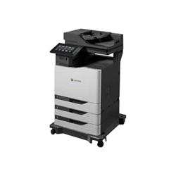 Imprimante laser multifonction Lexmark CX825de - Imprimante multifonctions - couleur - laser - Legal (216 x 356 mm)/A4 (210 x 297 mm) (original) - A4/Legal (support) - jusqu'à 52 ppm (copie) - jusqu'à 52 ppm (impression) - 650 feuilles - 33.6 Kbits/s - USB 2.0, Gigabit LAN, hôte USB