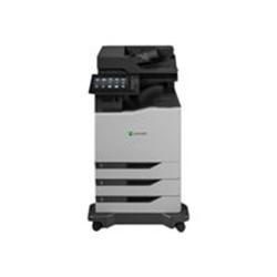 Imprimante laser multifonction Lexmark CX860dte - Imprimante multifonctions - couleur - laser - Legal (216 x 356 mm)/A4 (210 x 297 mm) (original) - A4/Legal (support) - jusqu'à 57 ppm (copie) - jusqu'à 57 ppm (impression) - 1750 feuilles - 33.6 Kbits/s - USB 2.0, Gigabit LAN, hôte USB