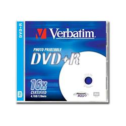 Verbatim - Dvd+r x 1 - 4.7 gb - supporti di memorizzazione 43507