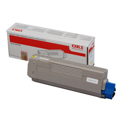 Toner Oki - Giallo - originale - cartuccia toner 44315305