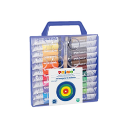 Tempera Primo - Poster - pittura - colori assortiti - 12 ml (pacchetto di 22) 449t22va