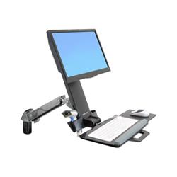 Lenovo - Ergotron styleview sit-stand combo arm - kit montaggio 45-266-026