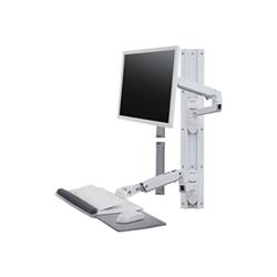Lenovo - Ergotron lx wall mount system - kit montaggio 45-551-216