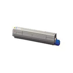 Toner Oki - Giallo - originale - cartuccia toner 45862814