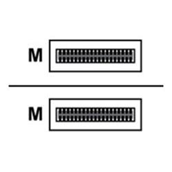 Cavo rete, MP3 e fotocamere Dell - Dell networking cable qsfp  to qsfp