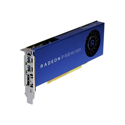 Image of Scheda video Radeon pro wx 3100 - scheda grafica - radeon pro wx 3100 - 4 gb 490-bdzw