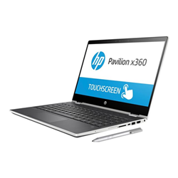 "Notebook convertibile HP - Pavilion x360 14-cd0008nl - 14"" - core i3 8130u - 8 gb ram 4ke87eaabz"