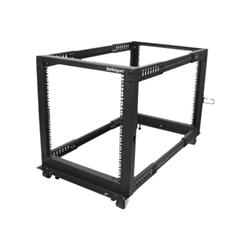 Startech - Startech.com armadio server rack con 4 staffe a telaio aperto 12u con profondit