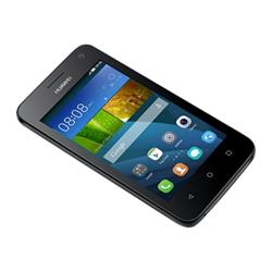 """Smartphone Huawei Y3 - Smartphone - double SIM - 3G - 4 Go - microSD slot - GSM - 4"""" - 800 x 480 pixels - 5 MP (caméra avant de 2 mégapixels) - Android - noir"""
