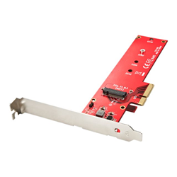 Scheda PCI Lindy - Storage controller - m.2 card - pcie 3.0 x4 51132