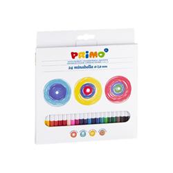 Tempera Primo - Pastello colorato - colori assortiti (pacchetto di 24) 523minab24