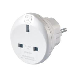 Busta COMPAGNIA DEL VIAGGIO - Go uk-eu adaptor - adattatore connettore alimentazone 524