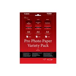 Carta Canon - Pro variety pack pvp-201 - kit carta per foto - 15 fogli - a4 6211b021