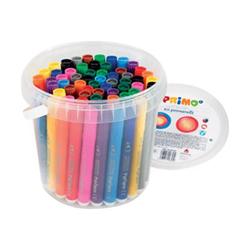 Primo - Jumbo - penna punta in fibra - colori assortiti (pacchetto di 60) 621bpj60