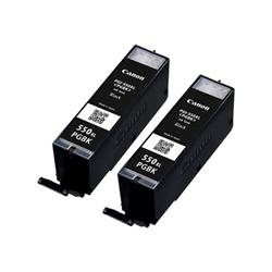Serbatoio Canon - Pgi-550pgbk xl twin pack - confezione da 2 - alta resa - nero 6431b005