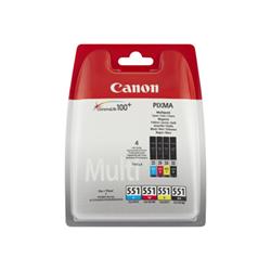 Canon - Cli-551 c/m/y/bk photo value bl