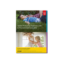 Software Adobe - Photoshop elements 2018 & premiere elements 2018 student and teacher edition 65