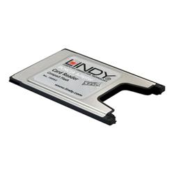 Scheda PCMCIA Lindy - Pcmcia compact flash adaptor card adattatore schede - scheda pc 70952