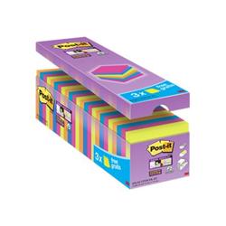 Post it Post-it - Super sticky - blocchi - 76 x 76 mm - 2160 fogli (24 x 90) 7100079739