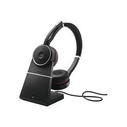 Cuffie con microfono JABRA - EVOLVE 75 MS Duo USB
