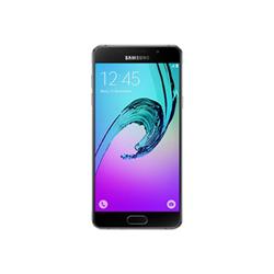 """Smartphone Samsung Galaxy A5 (2016) - SM-A510F - smartphone - 4G LTE - 16 Go - microSDXC slot - GSM - 5.2"""" - 1 920 x 1 080 pixels - Super AMOLED - 13 MP (caméra avant de 5 mégapixels) - Android - noir"""