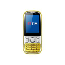 Smartphone TIM - Easy 4G Giallo 2 GB Single Sim Fotocamera 2 MP